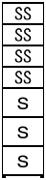 宅配ボックス T型-4SS-3S